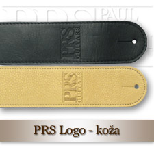 PRS Logo Leather Strap