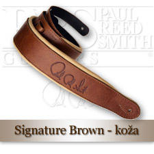 Signature Leather Strap (Brown/Tan)