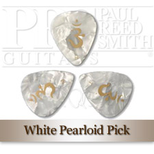 White Pearloid Plektrum