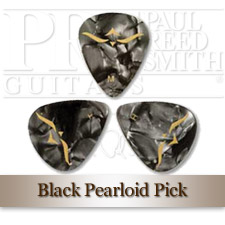Black Pearloid Plektrum