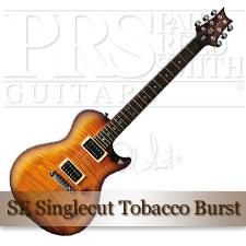 SE Singlecut Tobacco Burst