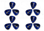 PRS Plektrum Blue Pearloid